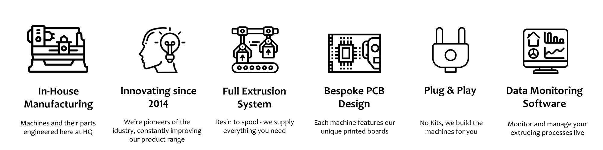 Noztek Home   Professional Desktop Filament Extruders and
